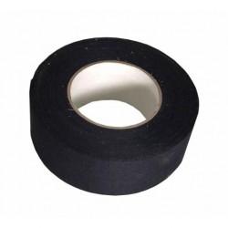 Toile 50mm NOIRE adhésive - Rouleau de 50m