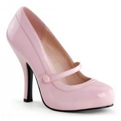 Plateau Scarpe Pin Up Couture CUTIEPIE-02 Rosa vernice