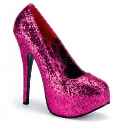 Zapatos Plataformas Bordello TEEZE-06G Rosa