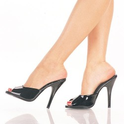 High Heels Heels Mules Pleaser SEDUCE-101 Black patent