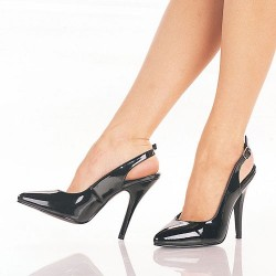 High Heels Sandals Pleaser SEDUCE-317 Black patent