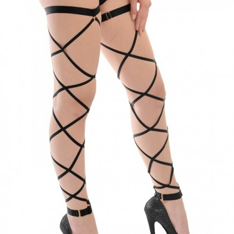 Lace Up - Leg Garters Bandurska Design