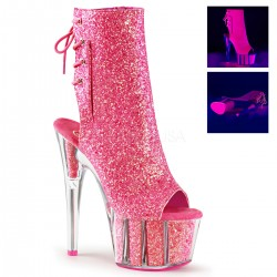 High Platforms Ankle Boots Pleaser ADORE-1018G Pink