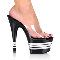 High Platforms Heels Mules Pleaser ADORE-701LN