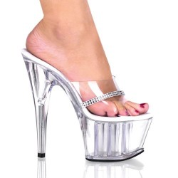 High Platforms Heels Mules Pleaser ADORE-701R