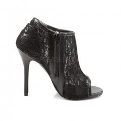 Zapatos Tacones Altos Pleaser AMUSE-56 Negro