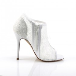 Zapatos Tacones Altos Pleaser AMUSE-56 Blanco